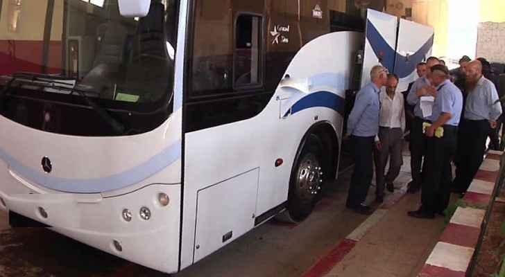 """""""الترخيص"""": 192 حافلة إجتازت الفحص الفني لنقل الحجاج وآخر موعد 16 الشهر الحالي"""