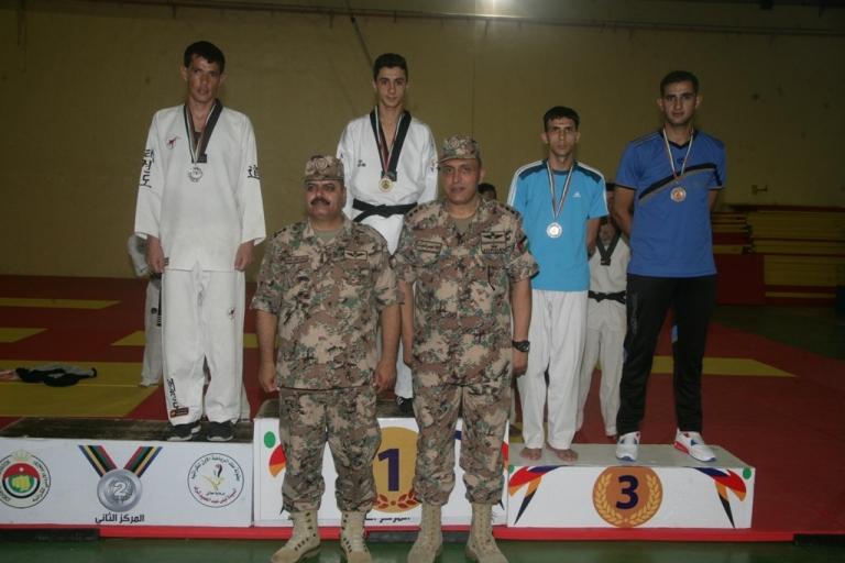 اختتام فعاليات بطولة القوات المسلحة الأردنية – الجيش العربي للتايكوندو لعام 2017