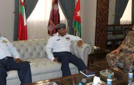رئيس هيئة الأركان المشتركة يستقبل قائد سلاح الجو النيجيري