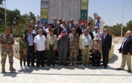 وفد من جمعية الشؤون الدولية يزور واجهة المنطقة العسكرية الشرقية