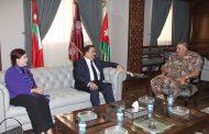 رئيس هيئة الأركان المشتركة يستقبل وزير الدفاع العراقي