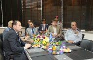 وزيرا الداخلية والصحة ومدير عام الدفاع المدني يزورون مركز الملك عبدالله الثاني للتصميم والتطوير