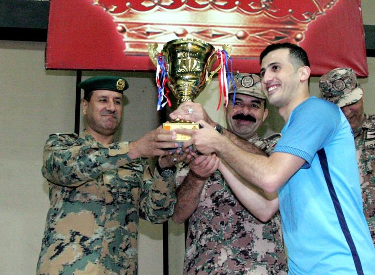 اختتام فعاليات بطولة خماسي كرة القدم للقوات المسلحة الأردنية – الجيش العربي لعام 2017