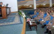 وزير العمل يحاضر في كلية القيادة والأركان الملكية الأردنية