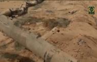 القوات المسلحة الاردنية تحبط خطة الارهابيين والمهربين باستخدام أنابيب النفط القديمة والانفاق