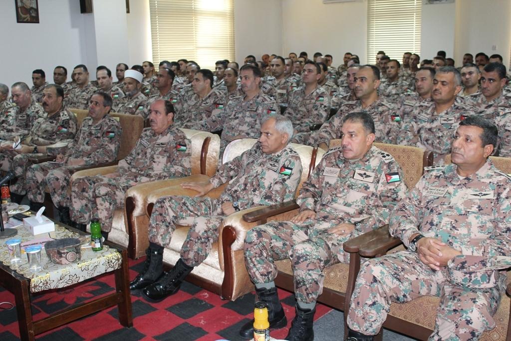 فرقة الملك عبدالله الثاني المدرعة/3 تعقد الندوة التدريبية للسنة التدريبية 2017