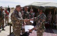 تخريج دورة الضباط الاحداث في مركز تدريب المنطقة العسكرية الشرقية