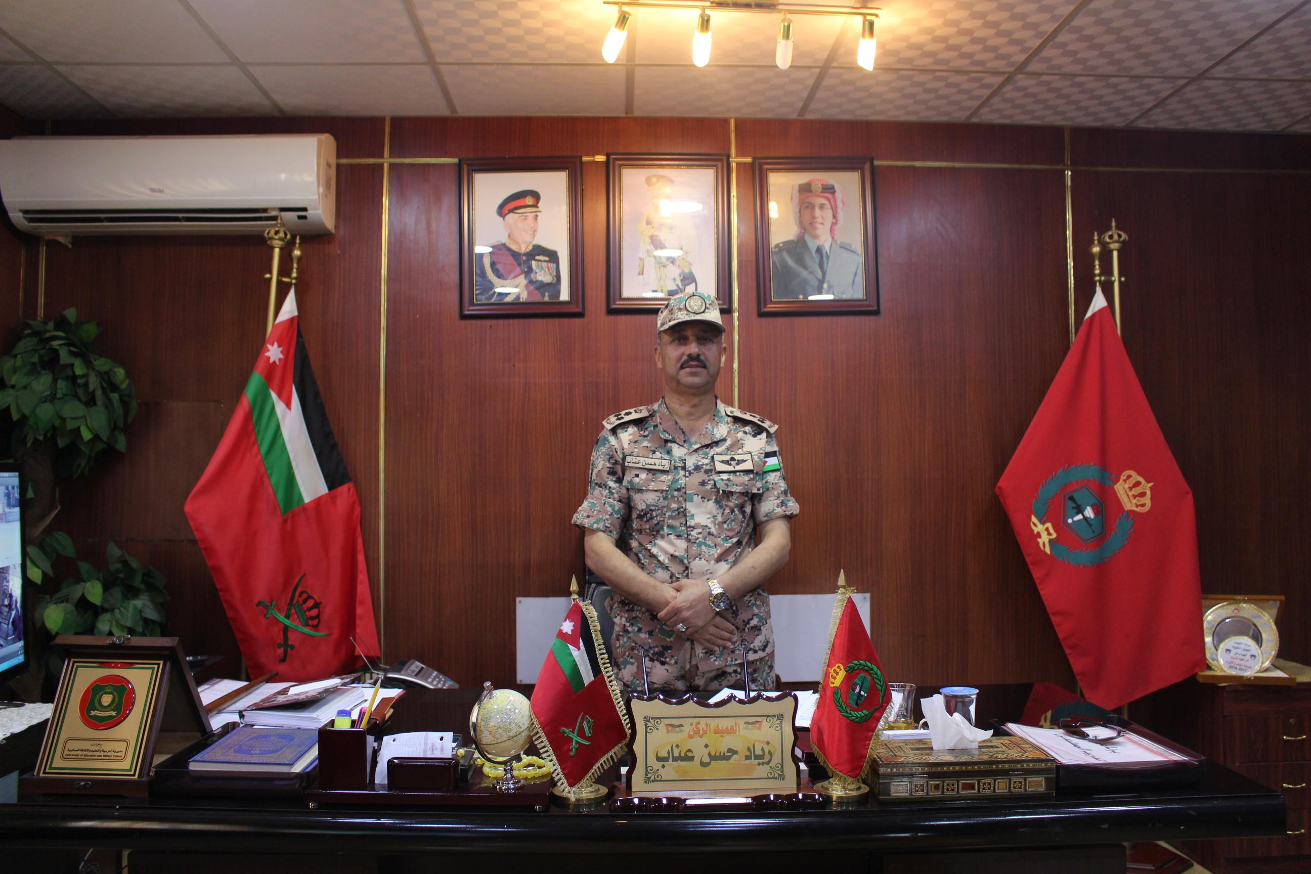 """برنامج """"هنا الأردن"""" ينظم حلقة خاصة من مدرسة الملك طلال العسكرية في الزرقاء"""