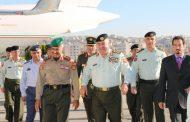رئيس هيئة الاركان المشتركة يستقبل رئيس هيئة الأركان العامة للجيش الكويتي