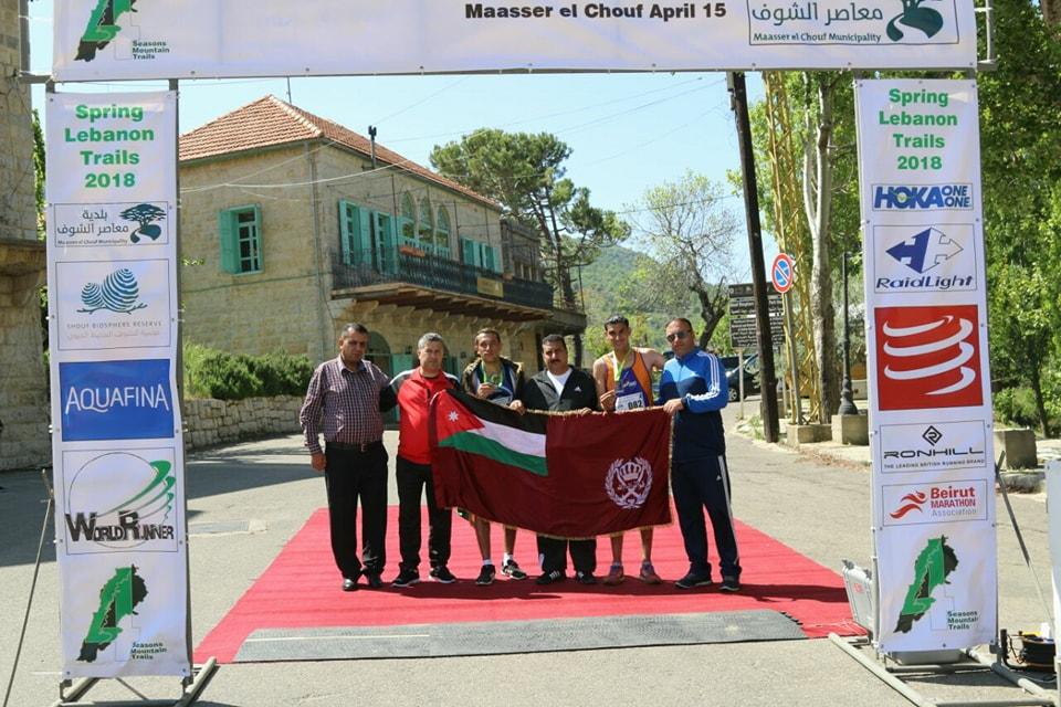 الدرك يحصد الذهب في ماراثون لبنان الدولي