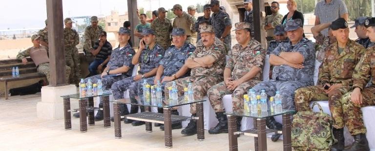 اختتام فعاليات تمرين الأسد المتأهب 2018 في القوة البحرية والزوارق الملكية